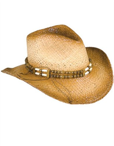 Cowgirl Hat with Beaded Band