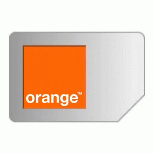 フランス ORANGE オランジュ プリペイドSIMカード 残高15EUR付き 並行輸入品
