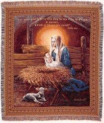 Jesus Throw Blankets