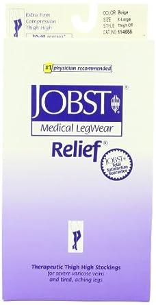 Jobst Relief, Medium, Beige, 30-40 mmhg by Jobst