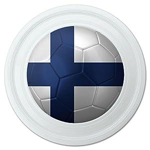 Amazon.com : Finland Flag Soccer Ball Futbol Football Novelty 9