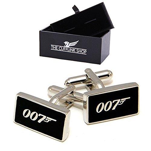 Degli uomini freddi di disegno della novità di 007 James Bond gemelli con confezione regalo di lusso