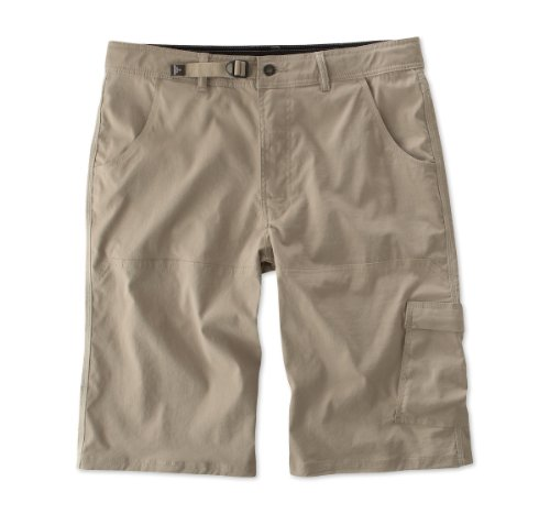 prAna Men's Stretch Zion Short, Khaki, Small
