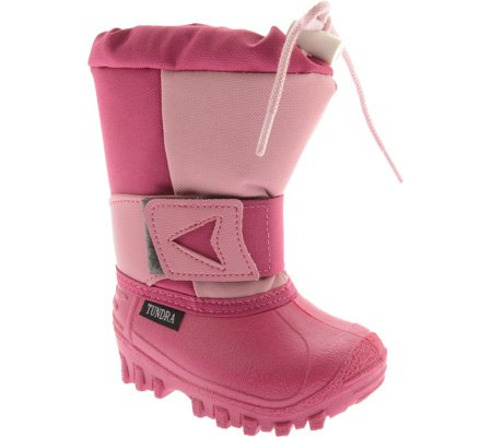 Tundra Arctic Drift 2 Boot (Toddler/Little Kid),Pink,7 M Us Toddler front-36856