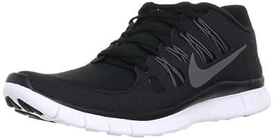 Nike Men's Free 5.0+ Black/Mtlc Drk Gry/Drk Gry/Wht Running Shoe 7 Men US