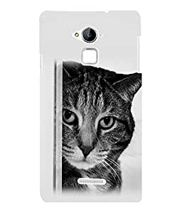 printtech Cat Looking Back Case Cover for Coolpad Note 3 Lite