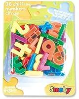 Smoby Jeux éducatifs - 36 Chiffres Magnétiques