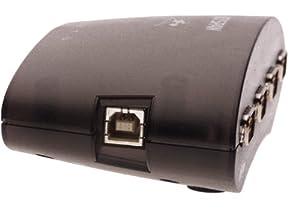 USB 4-Port Serial Adapter (USA-49WLC)