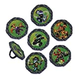 12 ~ Skylanders Giants Rings ~ Cake/Cupcake Topper ~ NEW ~ Look!!!