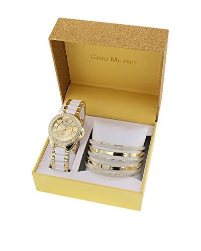 GINO MILANO Reloj de cuarzo + Pulsera MWF14/009C 39 mm