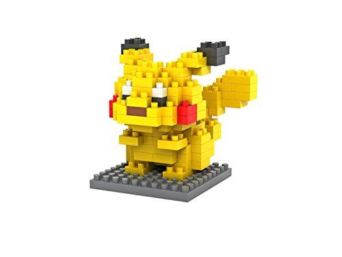LOZ Diamond Blocks Nanoblock Pokemon Pikachu Educational Toy 120pcs