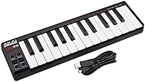 Akai Professional LPK25 25-Key Ultra-Portable USB MIDI Keyboard Controller for Laptops