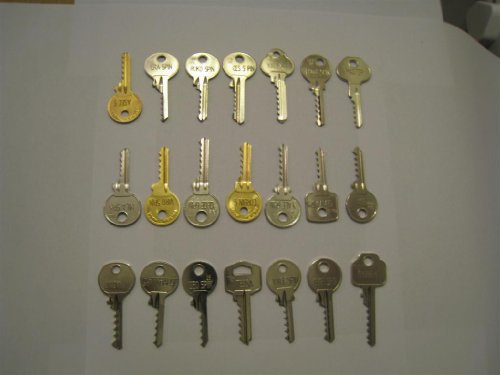 Full Set - 24 Bump Keys - to fit 99% of UK door locks.