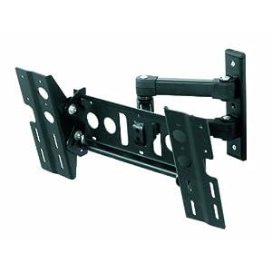 AVF EL404B-A Multi Position Dual Arm TV Mount for 25-Inch to 40-Inch Screens (Black)