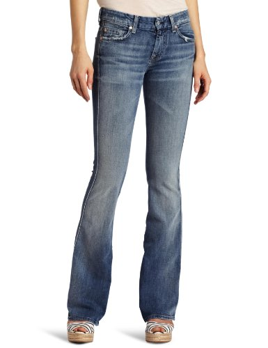 7 For All Mankind Women's A-Pocket Jean, Classic Vintage Blue, 28