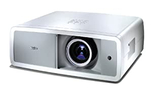 Sanyo PLV Z 700 LCD-Projektor (Kontrast 10000:1, 1200 ANSI Lumen, Full HD 1920 x 1080 Pixel) weiß/grau