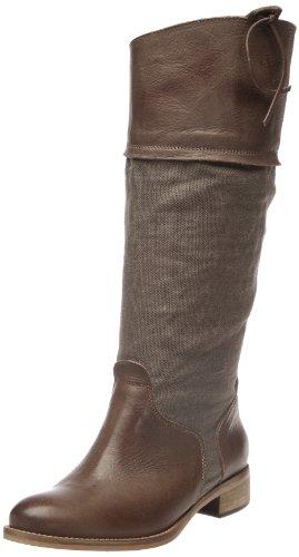 Tremp - Stivali, Donna, Marrone (Tabac (Vachetta Nappa/Tessuto Militar Tabacco)), 40