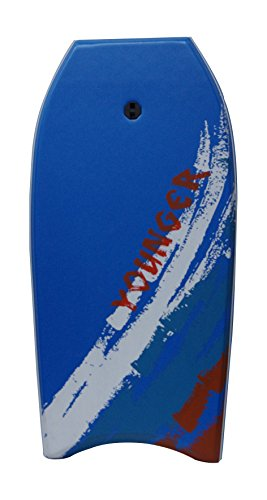 YOUNGER 39 inch Super Bodyboard, Perfect surfing, IXPE deck, Blue