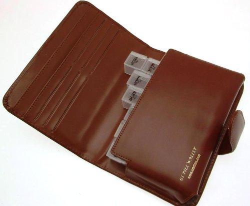 Leather Pill Wallet & Organiser