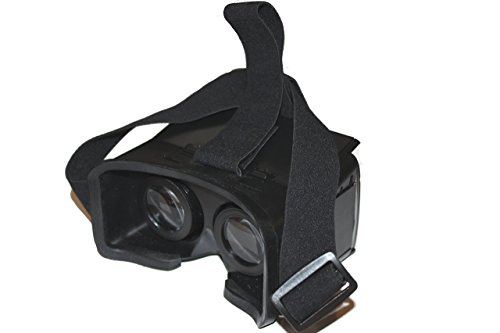 SimpleVR PL1 for Google Cardboard Head Mount Plastic Version Color Cross Universal Virtual Reality 3D & Video Glasses