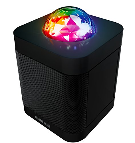 sharper-image-sbt613-bluetooth-speaker-with-lights-wireless-party-speaker-with-led-light-show-black