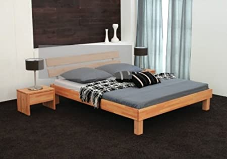 hasena bettgestell massivo buche ge lt ohne kopfteil. Black Bedroom Furniture Sets. Home Design Ideas