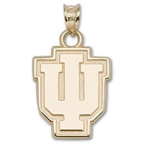 Indiana University IU 5 8 - 14K Gold by Logo Art