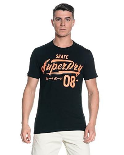 T-Shirt Manica Corta Entry-Speed Freaks [Nero]