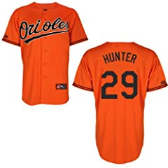 Tommy Hunter Baltimore Orioles Alternate Orange Replica Jersey by Majestic by Majestic