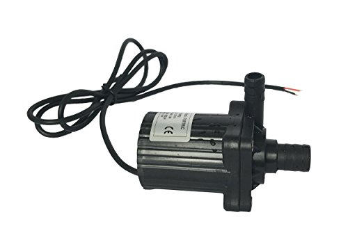 FORTRIC ZKWP02 140GPH DC 12V 14.4W Mag Drive Centrifugal Pump Submersible Water Pump Aquarium Pool Pump for Garden Fountain Water Circulation 16.4ft (High Pressure Pool Pump compare prices)