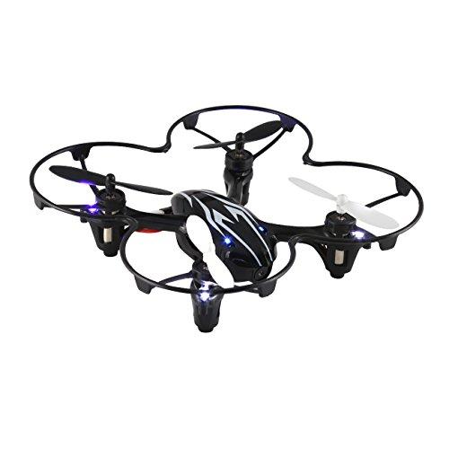 Tera Mini drone quadricoptero radiocomando senza fili 2.4G con la fotocamera, 4 assi, del telecomando display