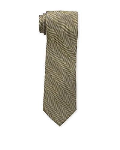 Bruno Piattelli Men's Heather Tonal Solid Tie, Gold