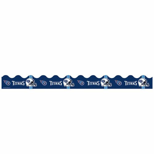 Eureka NFL Tennessee Titans Extra Wide Die Cut Deco Trim