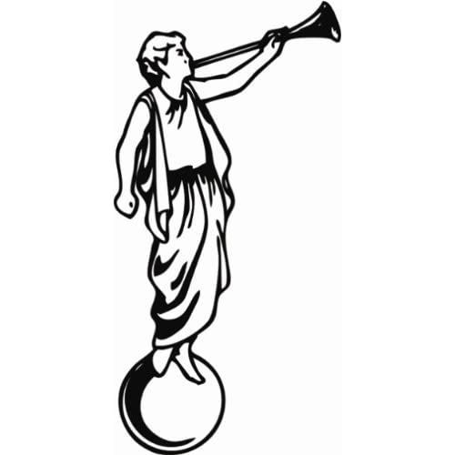 ANGEL MORONI LDS MORMON Car Sticker/Decal Vinyl NEW