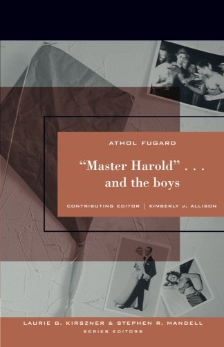 "boy essay harold master Essay on ""master harold""and the boys introduction master haroldand the boys is a play written athol fugard in early 1982 depicting apartheid in south africa fugard wrote a number of novels, short story, and plays featuring political upheavals and especially apartheid in south africa in the book, he introduced."