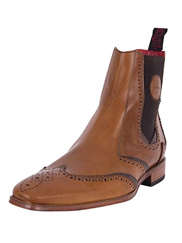 Jeffery West Uomo Scarface Hi Shoes, Marrone, 41