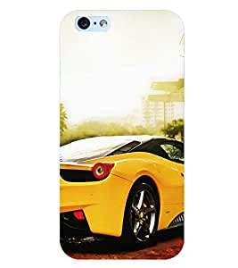 D KAUR Racing Car Back Case Cover for Apple iPhone 6::Apple iPhone 6S