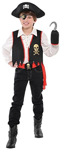 Costumes USA Pirates Child Kit - Small (5-6)