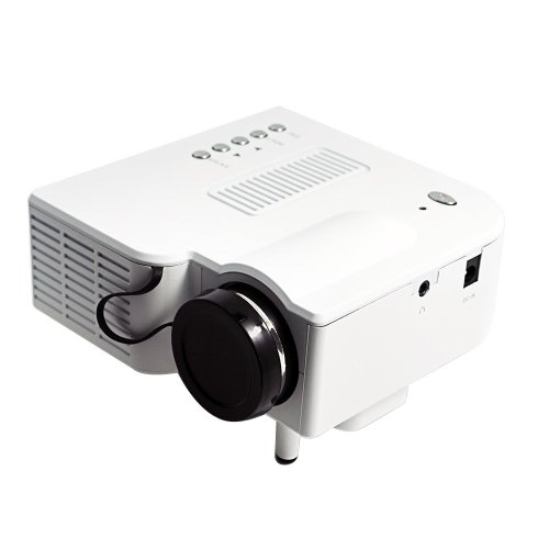 60″ Transportable Mini Hd LED Projector Cinema Theater,Help PC Laptop  computer HDMI VGA Enter and SD + USB + AV Enter,for iphone,galaxy,laptop