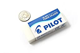 4 X Pilot Foam Eraser - Size 10