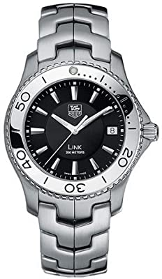 TAG Heuer Men's WJ1110.BA0570 Link Quartz Stainless Steel Watch from TAG Heuer
