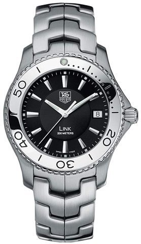 TAG Heuer Men's WJ1110.BA0570 Link Quartz Stainless Steel Watch