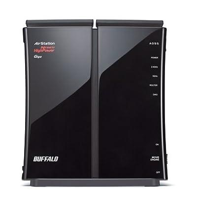 Buffalo AirStation HighPower N600 Gigabit Dual Band Open Source DD-WRT Wireless Router (WZR-600DHP)