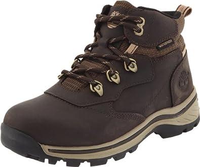 (爆跌)天木兰 Timberland Whiteledge Waterproof 踢不烂儿童款真皮徒步鞋$44.93