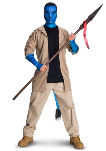 Rubies Mens Avatar Movie Characters Jake Sulley Fancy Deluxe Costume