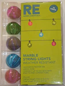 Amazon.com: Room Essentials Marble String Lights: Home & Kitchen