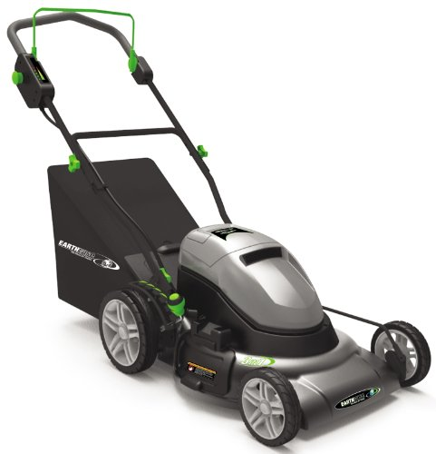 Earthwise 60220 20-Inch 24 Volt Side Discharge/Mulching/Bagging Cordless Electric Lawn Mower picture