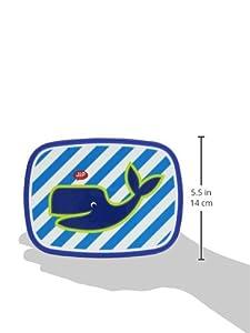 Jip JIP0702 Zoo - Fiambrera infantil, diseño de ballena, color azul por Jip en BebeHogar.com