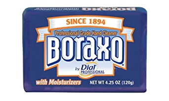 Dial Professional 02503 Heavy Duty Boraxo Bar Soap 4.25 Oz. (Case of 48)