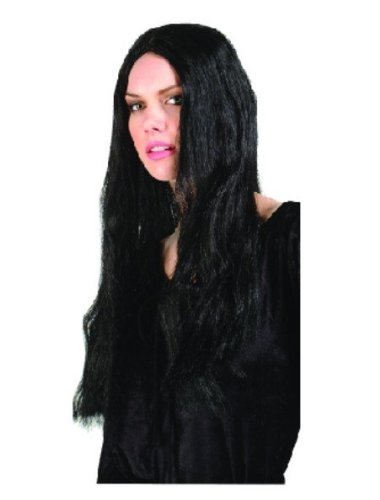 RG Costumes Long Black Witch Wig